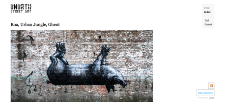 unurth - street art