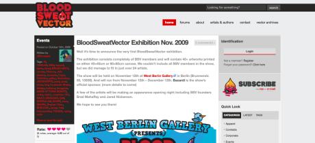 Blood Sweat Vector - Vector Art Showcase & Artist Collective