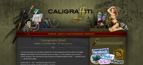 Caligraffiti - Design, art, technology and culture