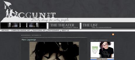 Cgunit - Online Gallery