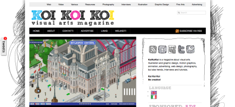 koikoikoi.com - Visual Arts Magazine, graphic design, illustration, photography, interviews, inspiration, tutorials